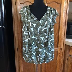 NWT Liz Claiborne Top and Cami Set Size XL